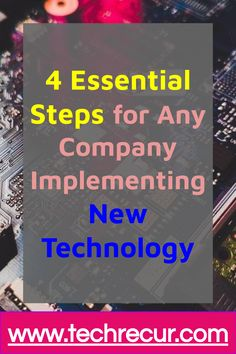 To better serve your #customers and keep up with your competitors, it's a good idea to #implement new #technology on a fairly regular basis. In order to make this transition as smooth as possible, though, it's important to take some preliminary steps before you make the switch. By making the right preparations, you will experience fewer glitches and help your entire team stay on the same page. Find Someone Who, Seo Tips, New Opportunities, New Technology, Internet Marketing, Good Books, Essentials, Smooth