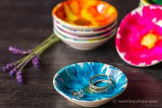 Ceramic dishes decor