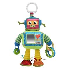 rusty the robot baby toy