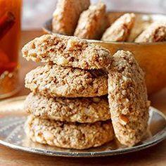 Zdrowe ciasteczka owsiane z jabłkami i cynamonem. Proste i pyszne ciasteczka owsiane.
