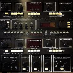 Welcome to the dark side... The vintage Eventide stack is growing.