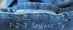 Jak skrócić jeansy i zachować oryginalne wykończenie nogawek? – 1-2-3 Szyjesz Ty