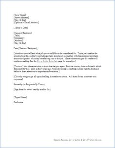 download the resume cover letter template from vertex42com - What Is A Resume And Cover Letter