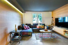 Vivienda en Benicassim. Valencia : Salones de estilo moderno de Egue y Seta