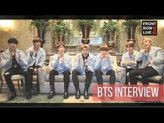 [ENG SUB] Front Row Live Ent. 방탄소년단 인터뷰     BTS Interview w/ Front Row Live Entertainment - YouTube