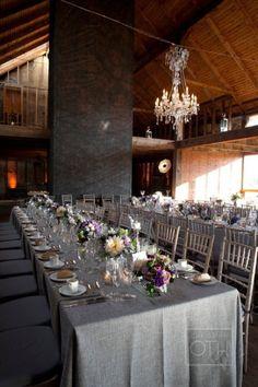 Grasmere Farm Wedding From Christian Oth Studio + Matthew Robins + Charmed  Places. Farm BackdropGrey TableclothsLong ...