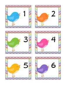 free May calendar cards