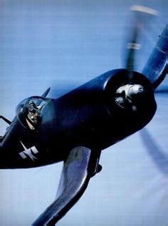 Vought F4U Corsair. June 1977