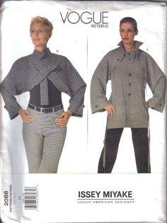 Issey Miyake Vogue Sewing Pattern Designer Original Misses w Plus Sizes UC   eBay