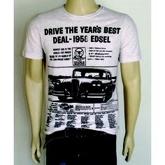 Camiseta Drive The Year - Gola Careca - Chassi & Co.