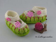 Romantische Babyschuhe - Ballerina