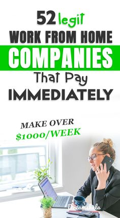 Are you searching for best work at home jobs that pay daily or immediately after work? then this list of jobs is a perfect solution for you. Work From Home Careers, Work From Home Companies, Legit Work From Home, Legitimate Work From Home, Work From Home Business, Work From Home Tips, Home Based Work, Best Online Jobs, Online Jobs From Home