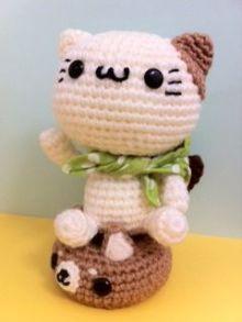 gatito amigurumi pagina japonesa