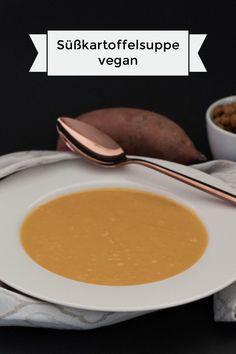 Süßkartoffelsuppe #vegan #healthy