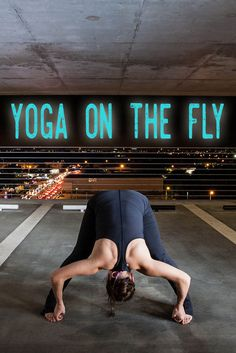 Boarding a long flight soon? Here are some tips for your yoga routine preflight to help you get through the plane ride!