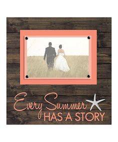 Look at this 'Every Summer Has a Story' Frame on #zulily today!