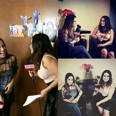 Vivian entrevistando a Becky ¿Existe algo mejor que esto?😍💯 - - - - - - - - - - - #beckyg #beckygomez #beaster #beasters #sebbeca #sebastianlletget #mahomies #relationshipgoals #goals #clevertv #vivianfabiola #chismelicioso #like4like  #likeforlike
