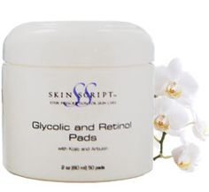 Great product for nighttime exfoliation by Skin Script. This helps fade hyperpigmentation areas.