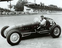 #93 Bob Scott (Usa) - Kurtis Kraft 2000 (Offenhauser 4) 29 (25) driveshaft