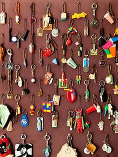 """Stephen Long, a pioneer in the world of collecting, said  """"I have always held that if you cannot afford the absolute best, then crowd it up."""" One slightly rusty key is nothing more than one slightly rusty key, but ganged up with another 20 it takes on a new life."""