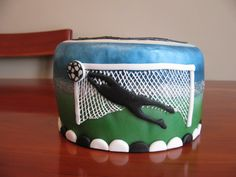 soccer mini cake The Effective Pictures We Offer You About chocolate Soccer Cake A quality picture c Soccer Birthday Cakes, Soccer Cake, Soccer Theme, Soccer Goalie, Mini Cakes, Cake Decorating, Birthdays, Presents, Cake Ideas