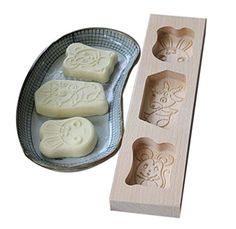Dessert Baking MoldsWooden Carving Baking Molds Lovely Animal297222cm *** To view further for this item, visit the image link.