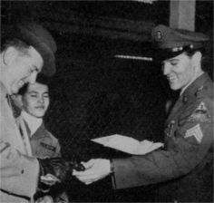 Elvis with his manager Colonel Tom Parker in March 5, 1960.