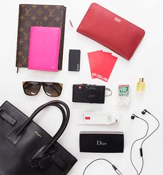 InStyle Editors Reveal What's In Their Bags During #NYFW #InStyle