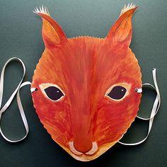 Squirrel Mask For Children