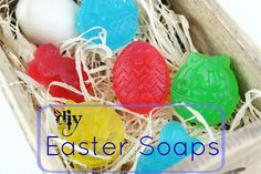 Diy Easter Soaps and our New issue!!!  Prepare your own soaps with glycerin using Easter molds. A great gift idea for the little ones this Easter!
