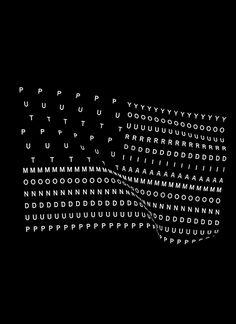 poster, black, white, typography, sans serif