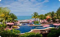 Swimming Pool at 5 star hotel: Khaolak Laguna Resort. This hotel's address is: Khuk-Khak, Khaolak Beach Khao Lak 82190 and have 154 rooms Khao Lak, Paragliding, Best Location, 5 Star Hotels, Hotels And Resorts, Swimming Pools, Outdoor Furniture Sets, Thailand, Tours