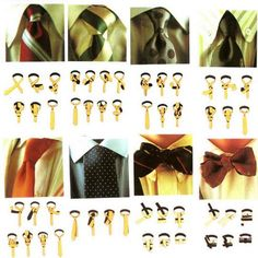How to Tie a Tie ~