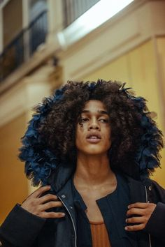 Leo Hoyte-Egan wearing Rich Mnisi by Ollie Ali for Pansy Mag