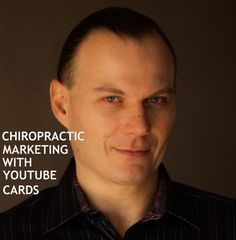 Chiropractic Marketing with YouTube Cards. YouTube Cards let you generate additional traffic to your chiropractic blog from your YouTube Chiropractic Channel. Do not let your great ideas die inside of your of you. Organize your time and office schedule and use that smart phone to its fullest potential. Make your Chiropractic patients a Chirowood Star