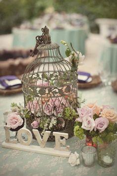 Bird cage florals.