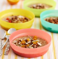 Celebrate National Oatmeal Day with this super easy, healthy, plan ahead recipe! Our Overnight Steel Cut Oats make the perfect grab and go breakfast!