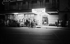 Paradise Room Hotel at night Surfers Paradise 1960.Courtesy Alexander McRobbie
