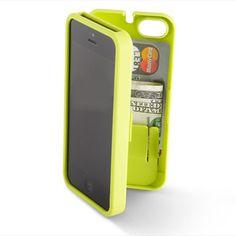 The iPhone 5 Polycarbonate Wallet (Colors) - Hammacher Schlemmer