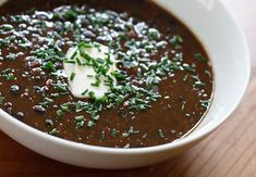 Black Bean Soup | Skinnytaste