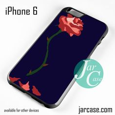 Beauty And The Beast Rose Pin Phone case for iPhone 6 and other iPhone devices
