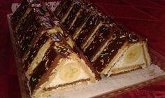 Fotorecept: Trojuholníky z Be-be keksov No Bake Cookies, No Bake Cake, Torte Recepti, Grape Jelly Meatballs, Grape Recipes, Cake Bars, Party Desserts, Butter, Mini Cakes