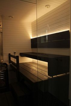 Of all the facilities you can use in a spa, the most popular one has to be a sauna. Diy Sauna, Sauna Lights, Sauna Design, Sauna Room, Infrared Sauna, Bathroom Toilets, Home Spa, Pool Designs, Jacuzzi