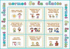 A DINS DE L' AULA: Cartells Normes de classe