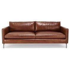 Cobble Hill Nolita Leather Sofa