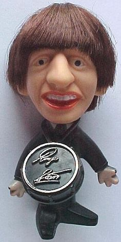 I still have the Remco Ringo Starr doll I bought at the New York's World Fair in 1964, I paid a couple of bucks for it.  I see won went for 118 bucks recently. Wish I'd bought all four Beatles
