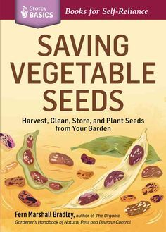 This illustrated, step-by-step guide shows you how to save seeds from 20 of the most popular vegetable garden plants, including beans, carrots, peas, peppers, and tomatoes. You'll learn how each plant