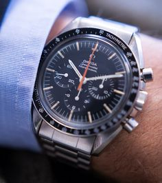 Bring a Loupe: A Rare Speedmaster, Two Chronographs With Famous Movements, And A French Diver's Watch — HODINKEE