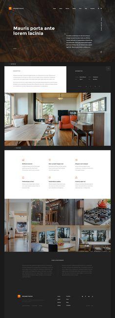 Prometheus Homepage 4 by Siteoutsite