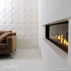 add beauty to the walls with these cool sustainable applications! Walls turned into sustainable art: Add dimension to the abode's decor